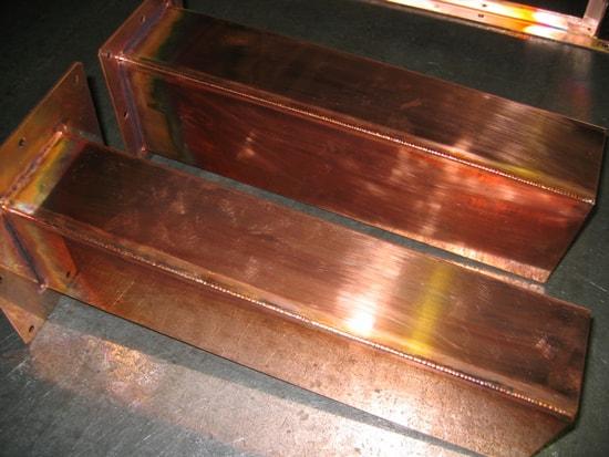 無酸素銅溶接品
