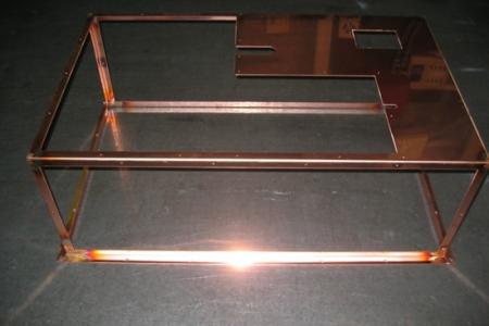 高価な無酸素銅溶接C1020(板金加工)
