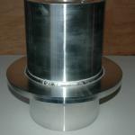 アルミ円筒溶接