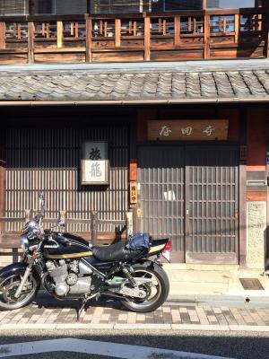 坂本龍馬で有名な寺田屋に訪れた