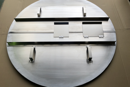 鉄からアルミに変えれば重量が1/3になり軽量化できます!