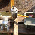 水圧試験(低圧)
