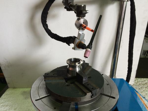 自動溶接機用割り出し器