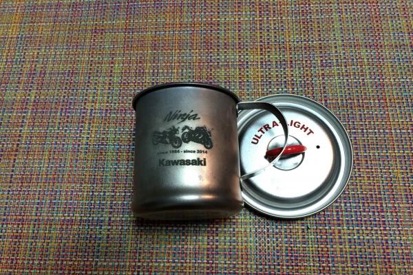 チタンマグカップ1