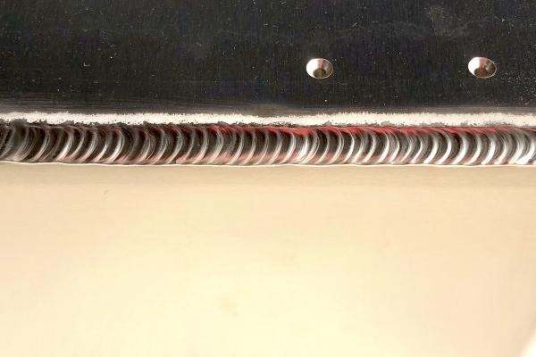 アルミパルス溶接