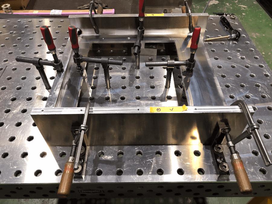 デメラー3Dテーブルシステムを使いアルミフレームを製作!その2