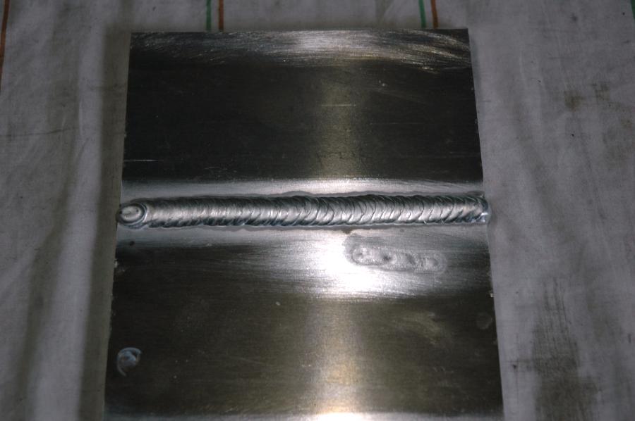 溶接が困難と言われている超ジュラルミンA2024溶接試験事例