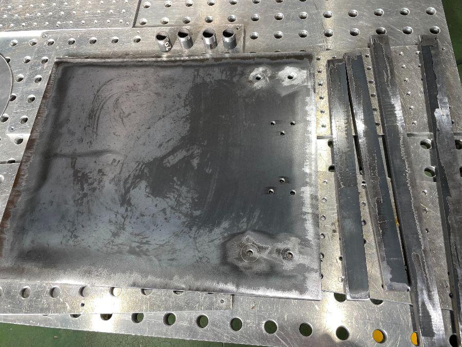 製缶加工と気密溶接品