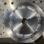A2017ジュラルミンフランジ溶接時の注意点