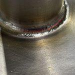 TB340チタンフランジ溶接時の注意点