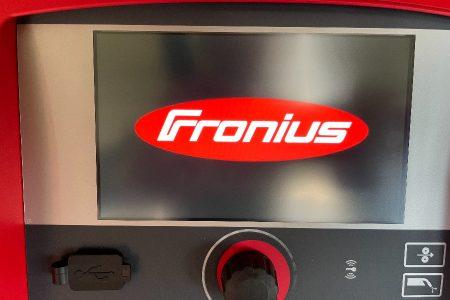 フロニウスCMT溶接電源を導入しました。